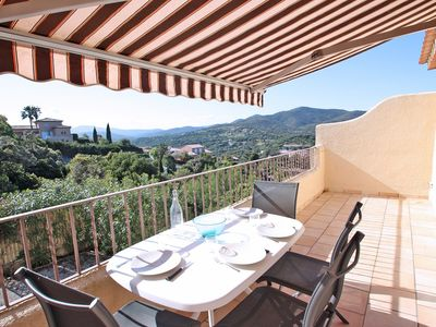 Photo for Apartment T2 - 4 people - Swimming pool and tennis residence - Sainte Maxime