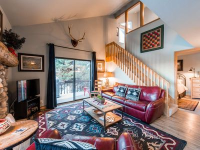 Photo for *FREE SKI RENTAL* Renovated Top Floor Unit - Updated Appliances, New Furniture, HDTV, Hot Tub & Pool