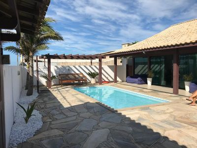 Photo for Large Modern Beach House with Pool, Barbecue Area, Lounge and Relaxing Area.