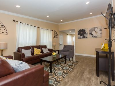 Photo for Nicely furnished one story house walking distance from Disneyland in Anaheim