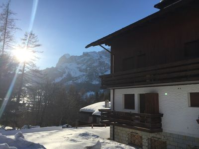 Photo for Charming, Cosy and Convenient: 3 bedroom Tyrolese apartment in Cortina d'Ampezzo