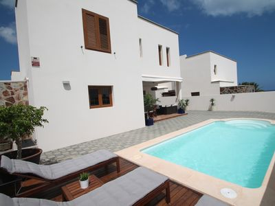 Photo for Luxury villa less than 4 minutes from the beach, to feel at home