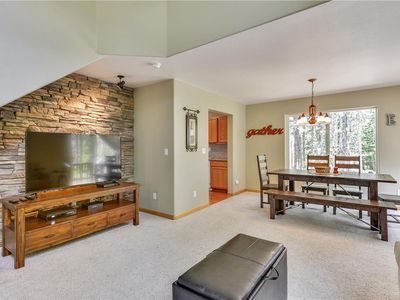 Photo for Truckee, CA -  Bright & Sunny 2 BR /2.5 BA Town-home in lower Tahoe Donner