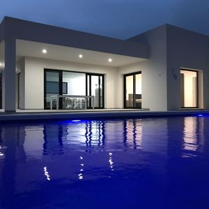 Photo for New Ibiza Villa with ocean view