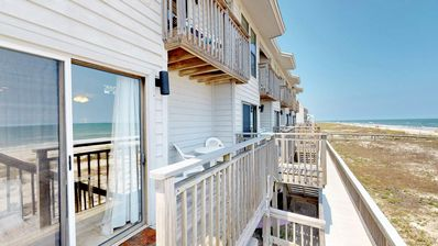 "Photo for FREE BEACH GEAR! Beachfront, East End, Community Pool, Wi-Fi, 2BR/2.5BA ""Ocean Mile H-5"""