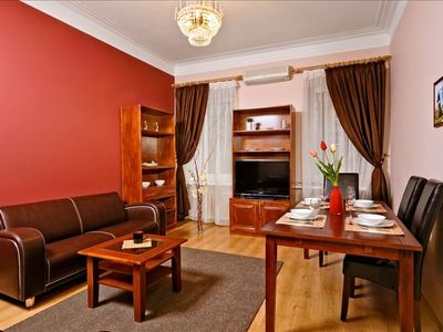 Photo for Beautiful 3-Bedroom in the Center of Kiev, Lively Street