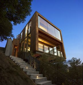 """Photo for Architectural 3BR """"Stairway to Zen"""" w/ Patio & Stunning Laurel Canyon View"""