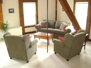 Comfortable living, those are recliners, sleeper sofa