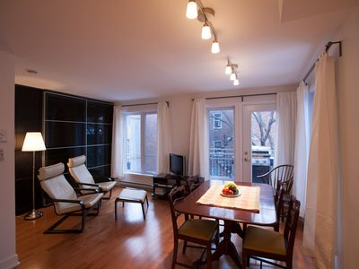 Photo for #160 Lovely Open Concept APT in Plateau Mont-Royal