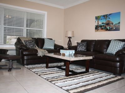 Photo for Luxurious 1st floor condo at at beach & boardwalk, king bed, pool, free parking