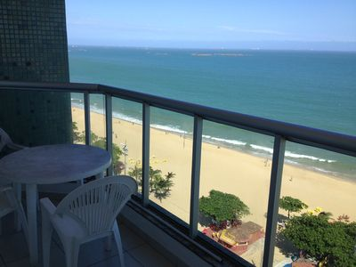 Photo for Fit garg bedroom balcony room facing the sea beach old village itaparica