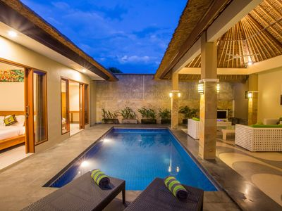 Photo for 2 BR modern Villa in Petitenget Seminyak