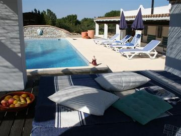 Luxury in rural villa with large pool