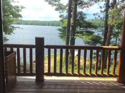 Photo for LONG LAKE LOG HOME !! YEAR ROUND ENJOYMENT!!!