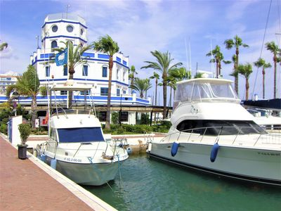 Photo for Beautiful 3 bed, 2 bathroom apartment located in the heart of Estepona Marina