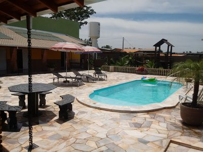 Photo for Chacara Estancia 3J, 4 rooms tds suites with air conditioning, WIFI,