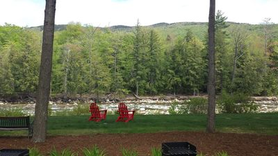 Photo for Gorgeous 3BR, 3BA Townhouse Right on the Pemi River - Great Views!