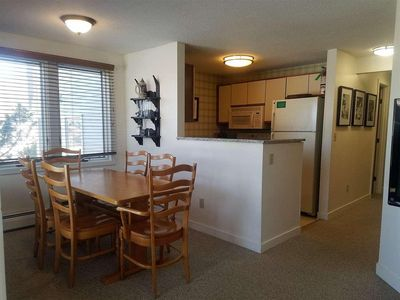 Photo for Ski Home to Mountain Views, Slope-side location, Shuttle stop right out front