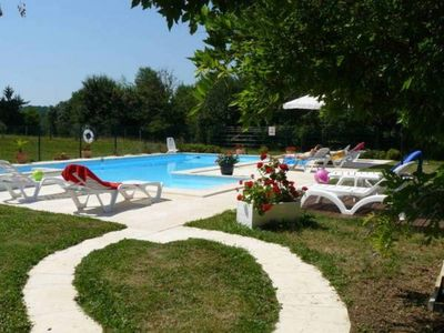 Photo for Nice renovated and spacious farmhouse, quiet and charming countryside