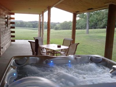 Romantic secluded Hot Tub