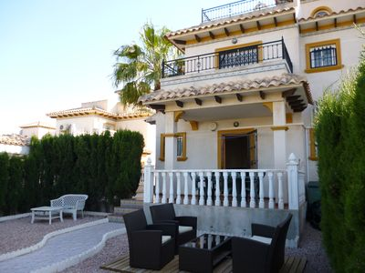 Our beautiful villa in La Zenia