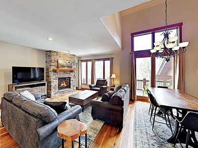 Photo for New Listing! Large Duplex in Wooded Setting w/ Private Hot Tub — Near Skiing