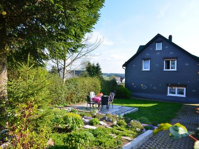 Photo for Cosy apartment in the heart of the Thuringian Forest at the Rennsteig