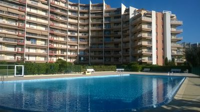 "Photo for Studio ""The Fairway II"" with swimming pool, 15 minutes walk from the beaches"