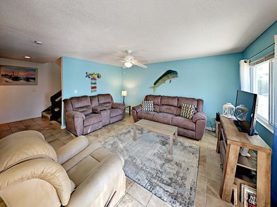 Photo for Updated 2BR Townhouse Steps to Beach - Quiet Community Close to Dining