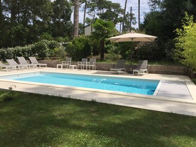 Photo for Villa in Pyla-sur-Mer with heated pool and large garden