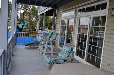 Enjoy Ocean View and Breeze from Large Covered Deck