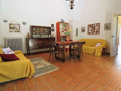 Photo for Spacious Villetta Liverani  apartment in Lecce with private parking & private garden.