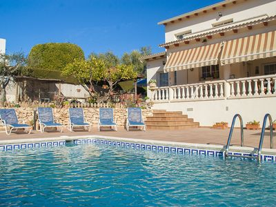 Photo for Club Villamar - Nice villa with fenced private pool, situated close to all amenities, a perfect e...