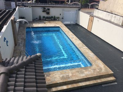 Photo for House With Pool Praia Grande - 4 Bedrooms Solemar