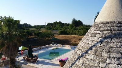 Photo for Beautiful Traditional Trullo With Private Pool in Martina Franca