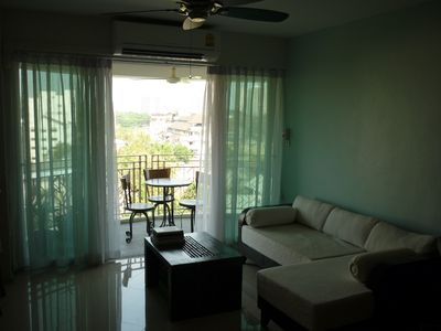 Photo for Old town suite, large balcony and a view (6 floor)