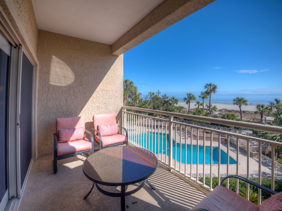 Captains Walk 444 2 Bedrooms Pool Oceanfront Hilton Head South Carolina Island Area South