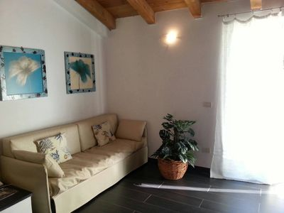 Photo for Romantic attic with terrace, conveniently situated to easily reach Cinque Terre