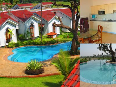 Photo for 08) Quiet away from it all serviced apartment Siolim