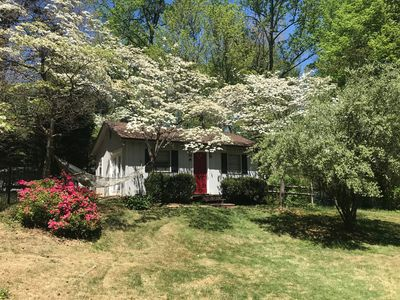 Photo for Relaxing Cottage close to everything! Perfect for 2!Wi-Fi, Keurig,Outside space!