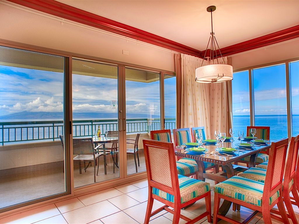 Oceanfront Vacation Villa For Rent Kaanapali Maui