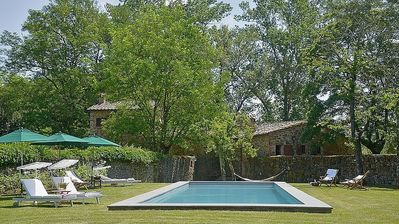Photo for Stunning ONE OF A KIND 6-BR Tuscan Villa w/ Private Pool, Near Arezzo & Florence