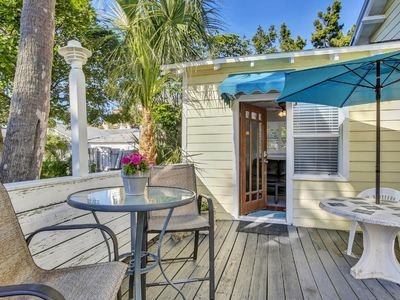 Photo for BEACH VIEW! Clearwater Beach Cottage Best Location 1 Bed/1BA Tropical Paradise!