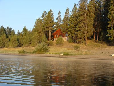 Photo for Pend Oreille Lodge... Overlooking the river and Selkirk mountains