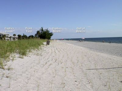 Photo for Captiva Condo Rental - Beachfront Vacation Villa Getaway