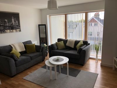Photo for Modern luxurious 1 bed in heart Cambridge for 4 people