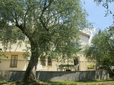 Photo for Neat house in Berre-les-Alpes (2 km) close to Nice and Monaco