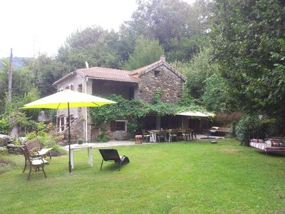 Photo for castagniccia Traditional house in Corsica, 4 bedrooms, 5 pers., garden, terra
