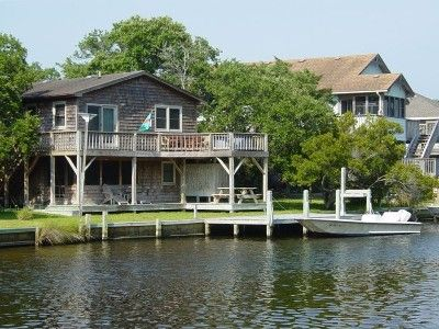 Photo for Otter's Pub-Fun & Relaxing On Canal-Big Dock & Great View-Kayaks-Pet Friendly