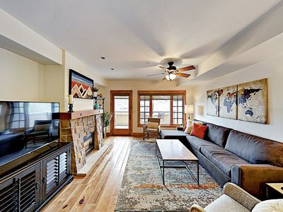 Photo for New Listing! Downtown Gem - 2BR/2.5BA Overlooking the Yampa River & Howelsen